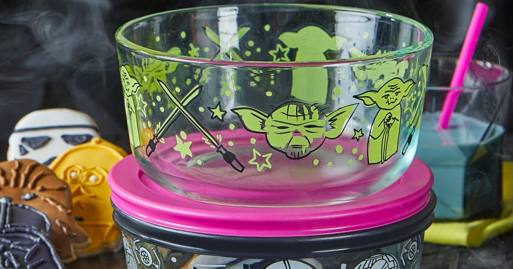 pyrex star wars pink