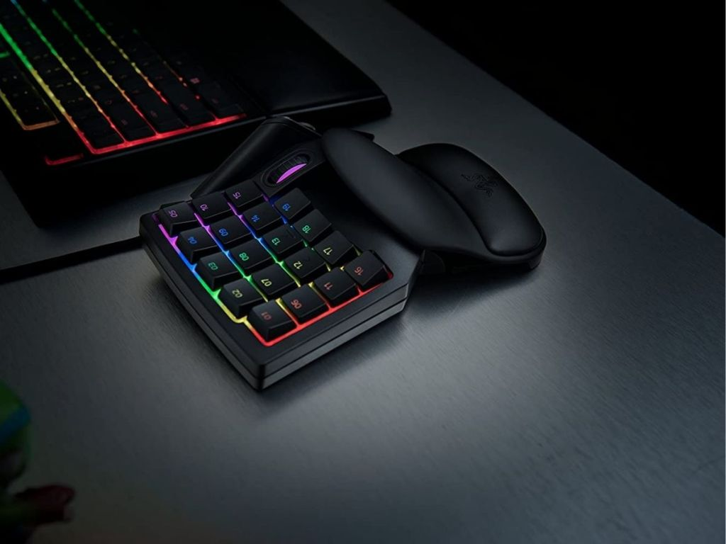 colorful gaming keypad
