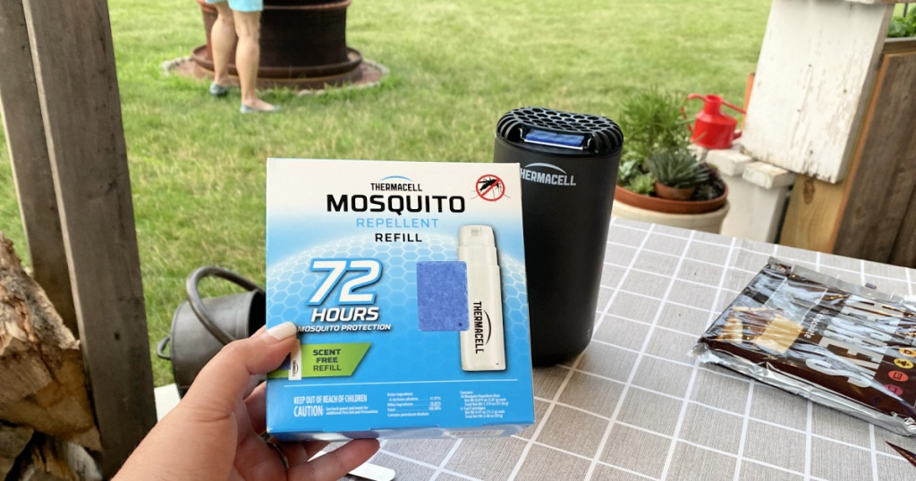 refills for the mosquito repellent