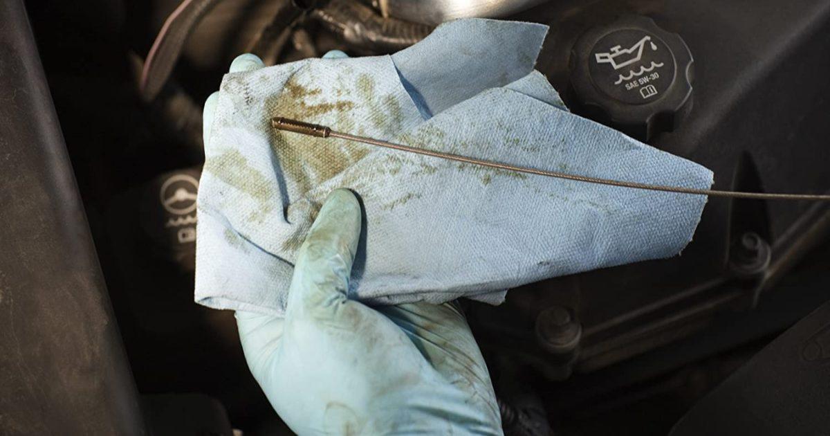 scott paper towels oil check