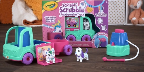 Crayola Scribble Scrubbie Pet Grooming Truck w/ 2 Pets Only $11.56 on Amazon (Regularly $23)