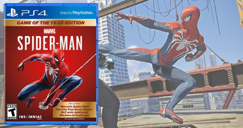 spider man game of the year