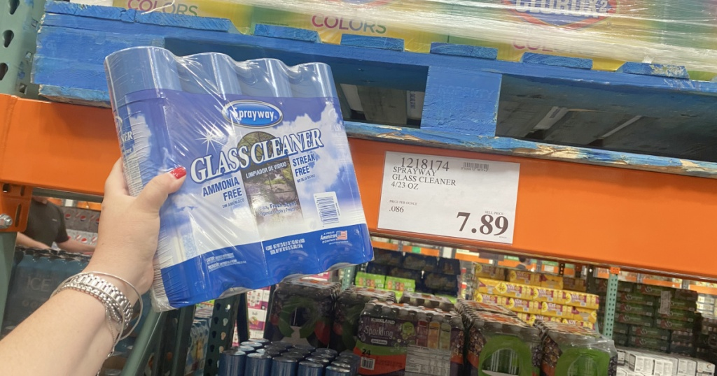 sprayway glass cleaner pack from costco