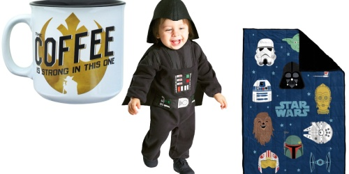 Star Wars Home Decor & Costumes from $10.99 on Zulily.com   Mugs, Weighted Blanket, & More