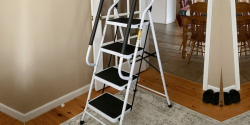 4-Step Folding Ladder w/ Tool Pouch Just $79.99 Shipped (Regularly $133)