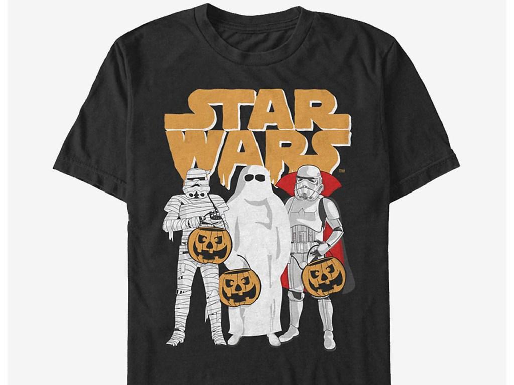 storm troopers trick o treat halloween tee
