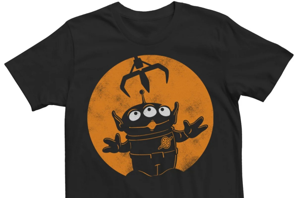 the claw halloween toy story tee