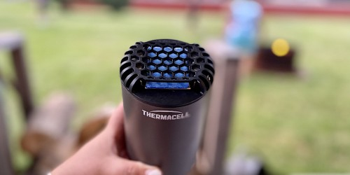 This Thermacell Patio Shield Mosquito Repeller Really Works… I LOVE This Product!