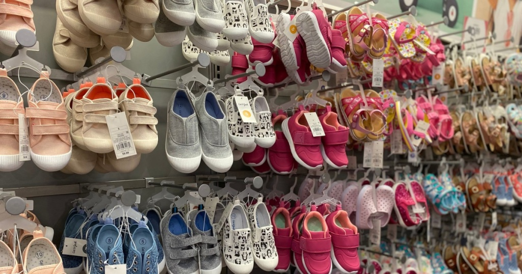 toddler shoes at target in store