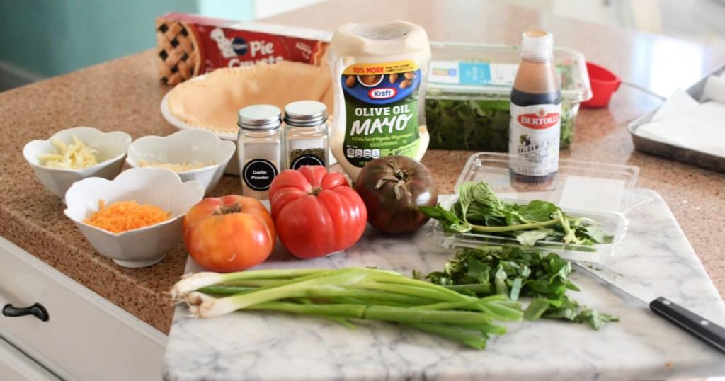 tomato pie ingredients