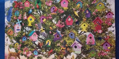 Buffalo Games Bird Hotel 1,000-Piece Jigsaw Puzzle Just $7.95 on Amazon (Regularly $15)