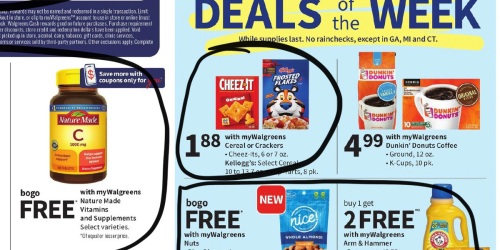 Walgreens Ad Scan for the Week of 8/22/21 – 8/28/21 (We've Circled Our Faves!)