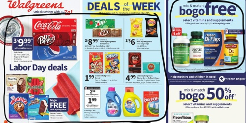 Walgreens Ad Scan for the Week of 8/29/21 – 9/4/21 (We've Circled Our Faves!)
