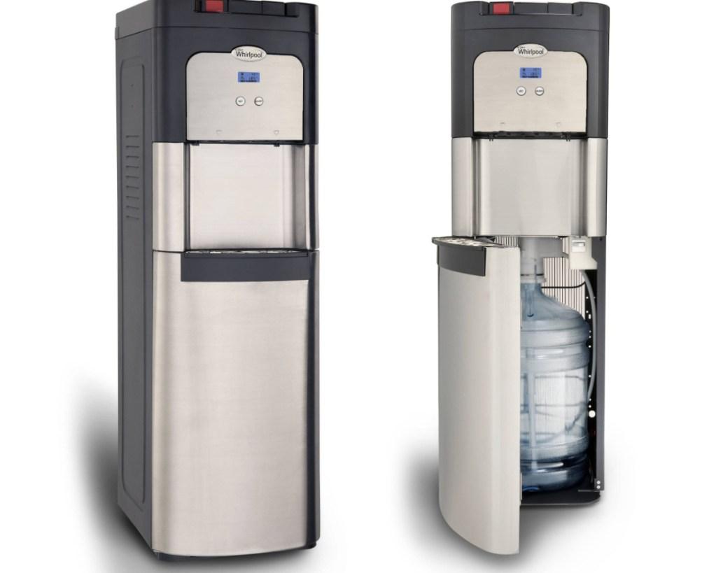 whirlpool water cooler w: display