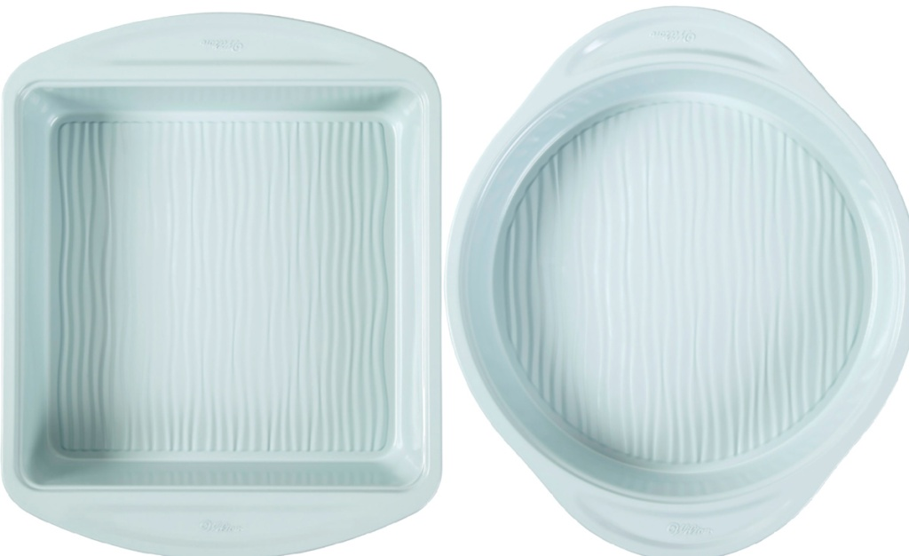 wilton bakeware square and oval
