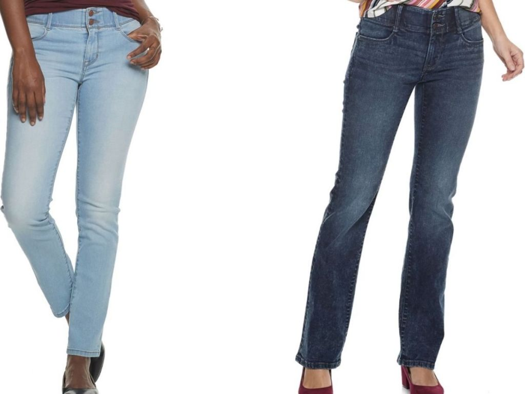 women's apt 9 denim jeans
