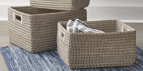 Save 50% on Dorm Items at JCPenney | Baskets, Towels, Blankets & More