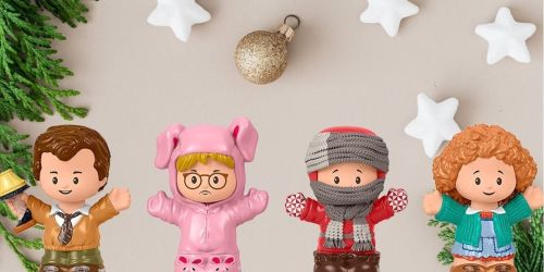 Fisher-Price Little People A Christmas Story 4-Piece Set Only $19.99 on Amazon