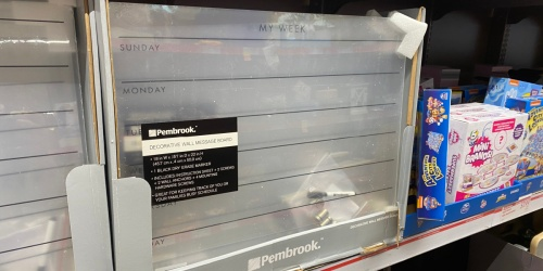 Pembrook Decorative Wall Message Boards Just $12.99 at ALDI