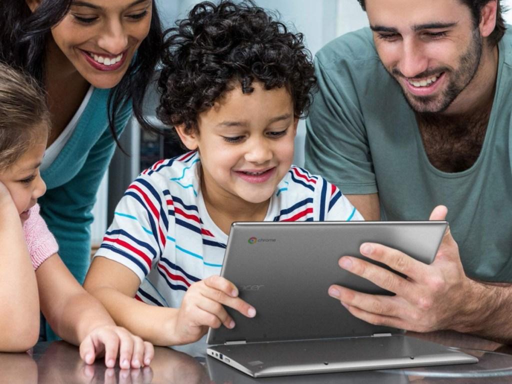 "Acer 11.6"" Touchscreen Convertible Spin 311 Chromebook Laptop"