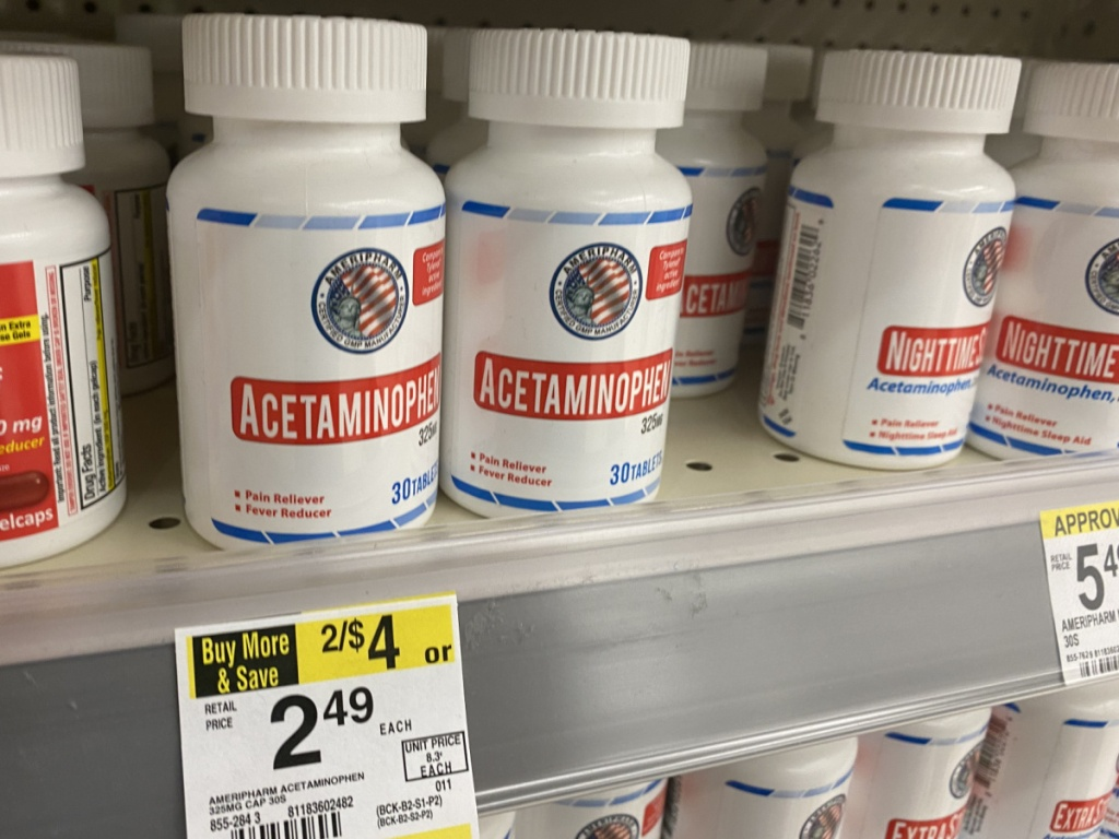 Ameripharm Acetaminophen
