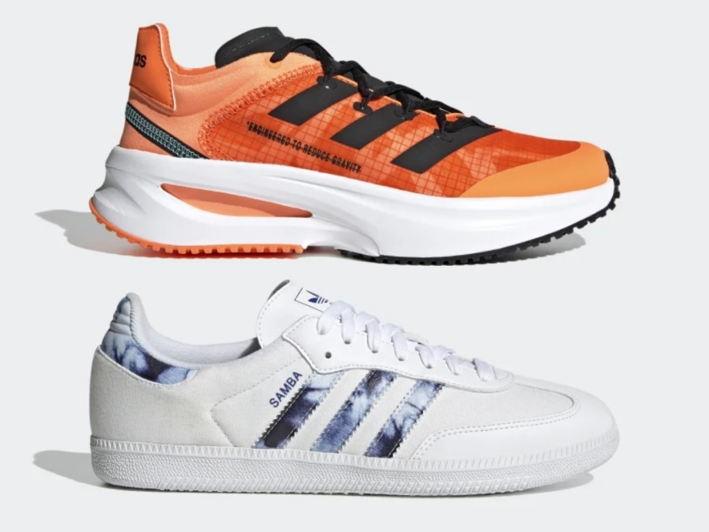 adidas men's fluidflash and sambra og shoes