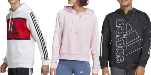 Up to 50% Off Adidas Clearance on JCPenney.com | Hoodies & Sweatshirts from $27.49 (Regularly $50)