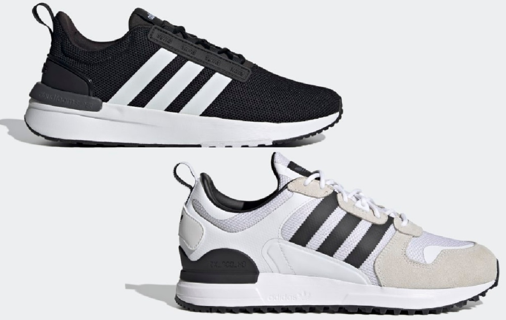 Adidas Men's Racer TR21 Shoes and Adidas Men's ZX 700 HD Shoes