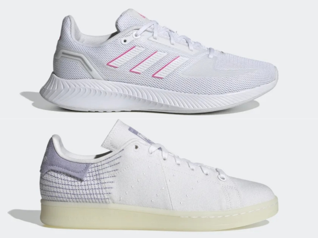 adidas women's runfalcon and stan smith shoes
