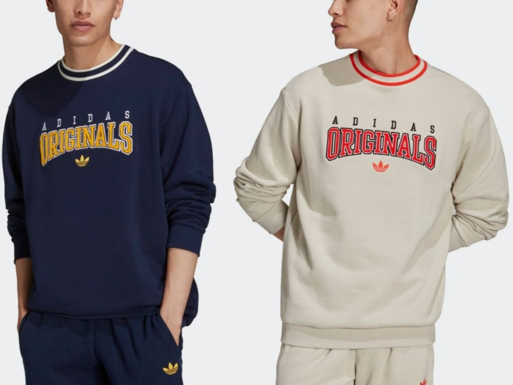 Adidas Script Sweatshirts