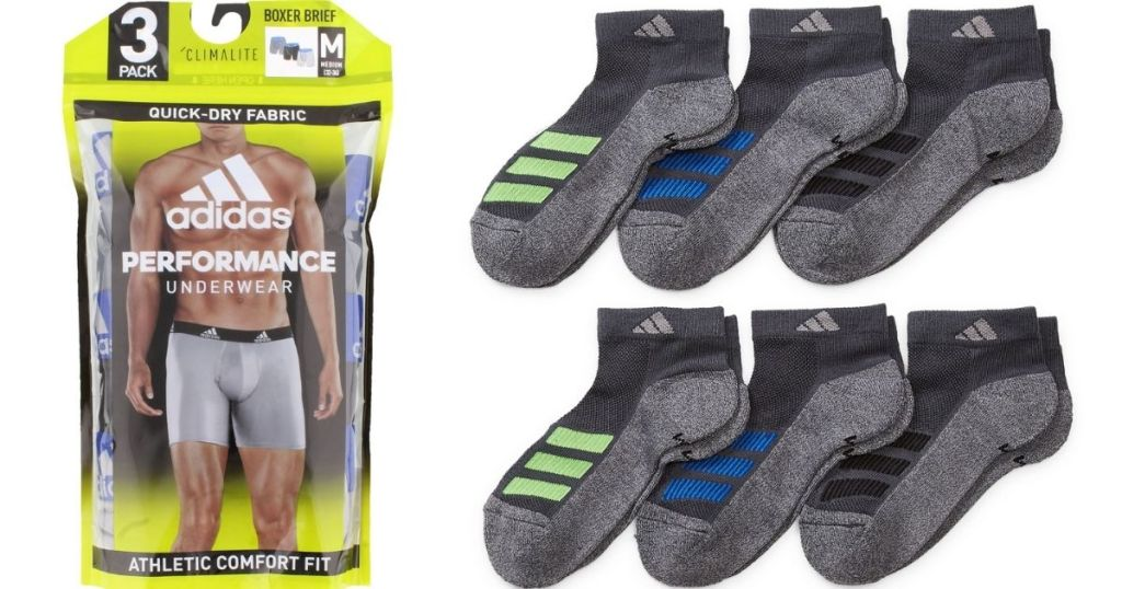 Adidas Underwear and Socks