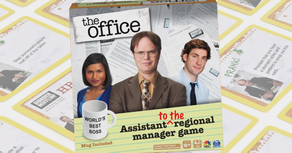 the office party game