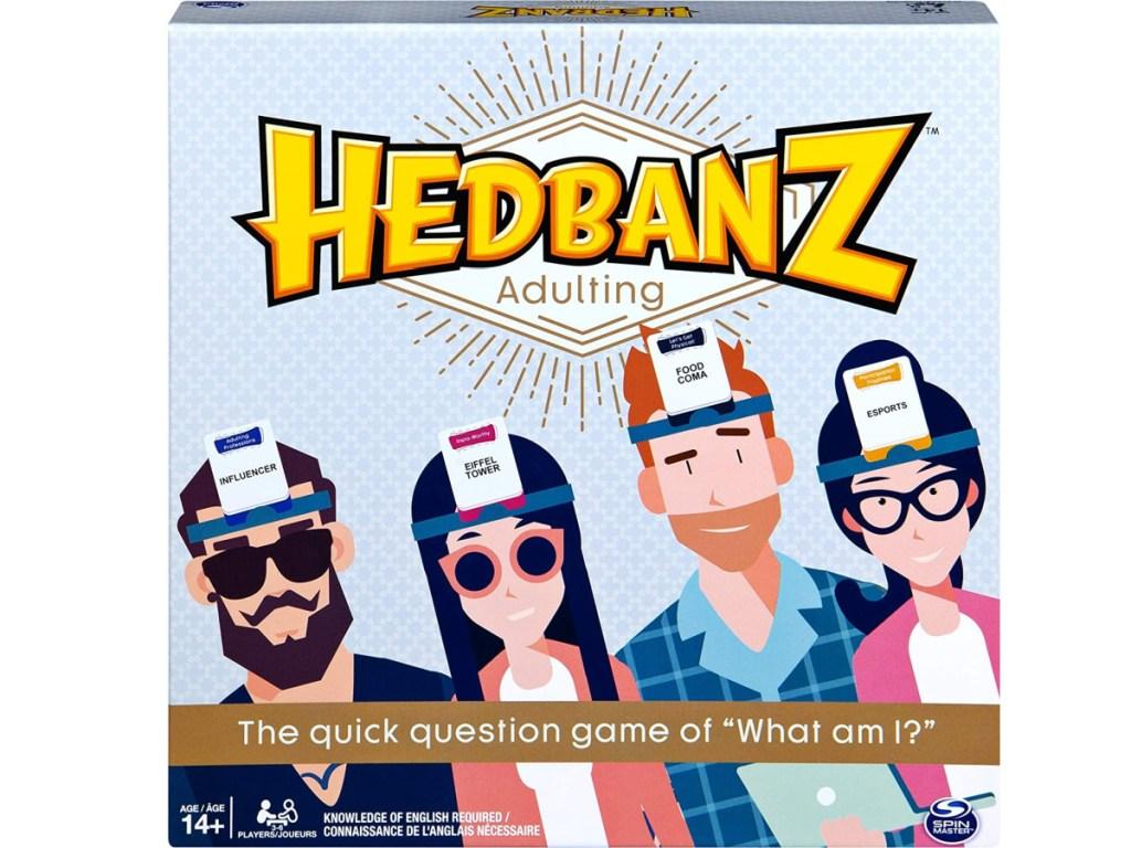 hedbanz adulting board game