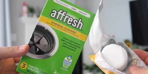 Affresh Garbage Disposal Cleaner Tablets 3-Count Only $2.56 Shipped on Amazon