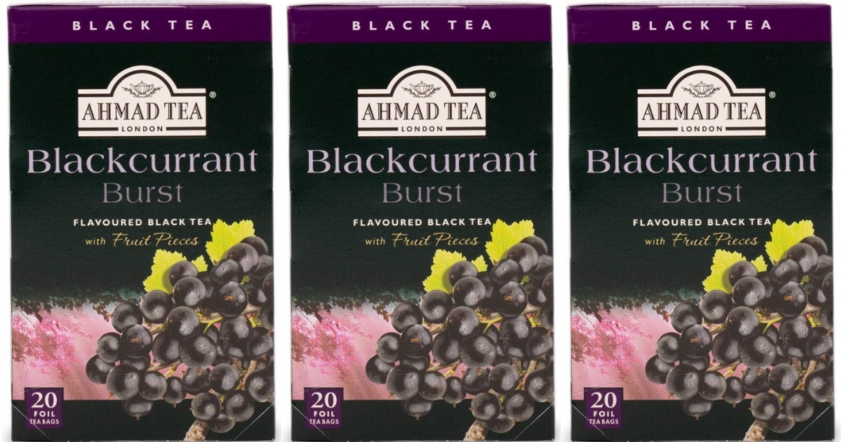 Ahmad Tea Blackcurrant Burst 120-Count