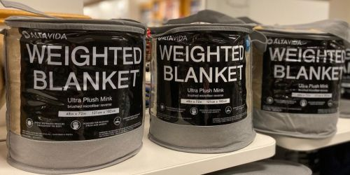 Up to 65% off Ultra Plush Weighted Blankets + Earn Kohl's Cash