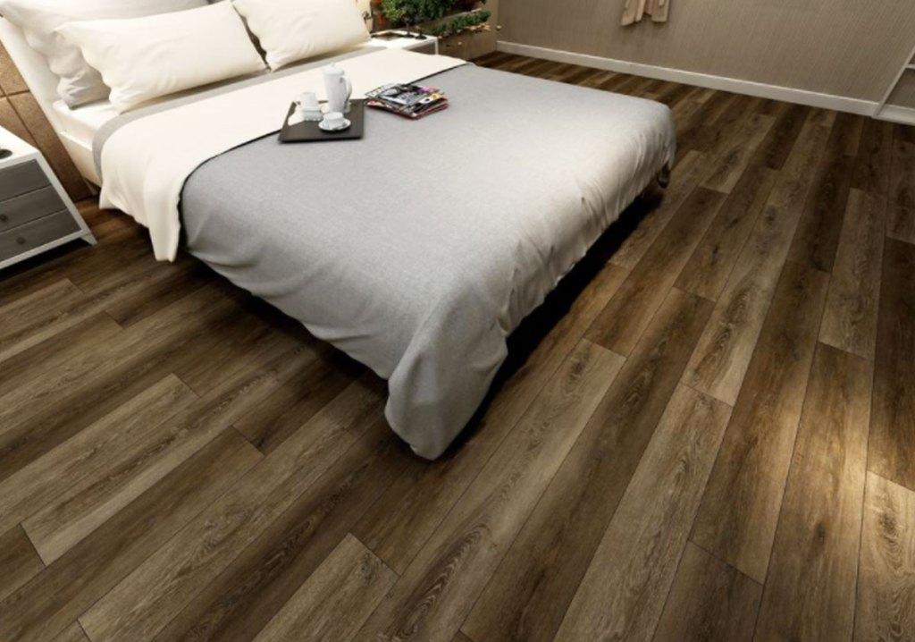 hardwood floors in bedroom