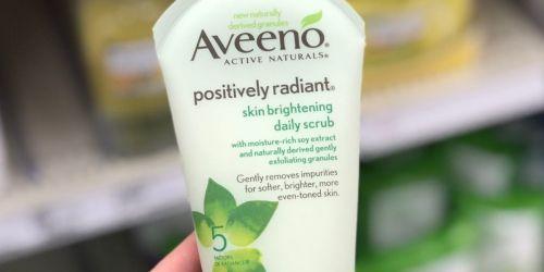 Aveeno Positively Radiant Exfoliating Facial Scrub Travel Size Only $1.32 on Amazon (Regularly $3)