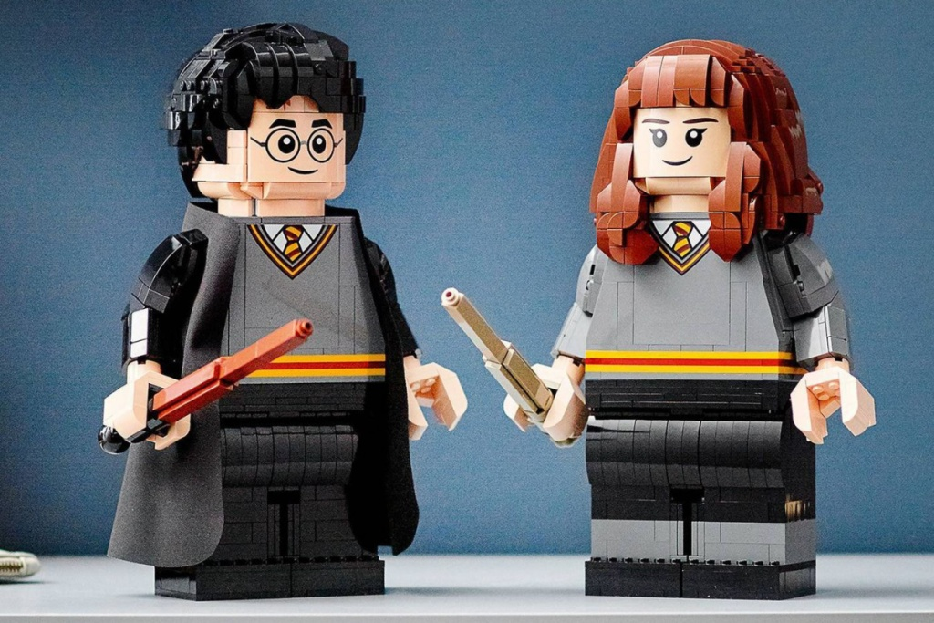 BIG LEGO harry potter figures
