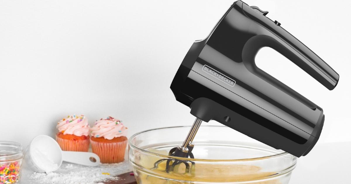 BLACK+DECKER Helix Performance Premium Hand Mixer