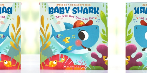 Kids Books as Low as 99¢ from LTD Commodities (Baby Shark, Disney, Holiday Titles, & More)