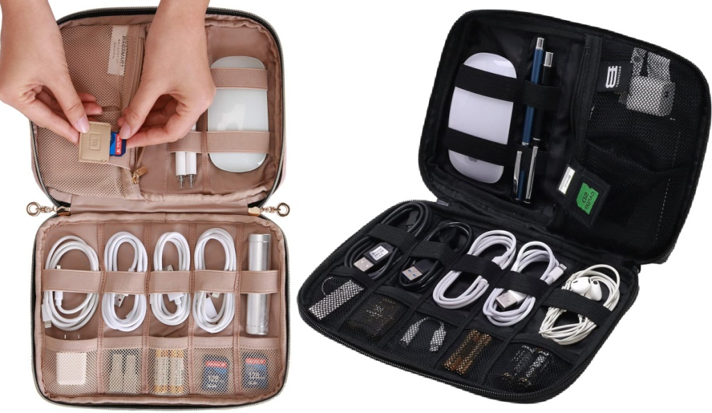 Bagsmart Compact Travel Cable Organizers
