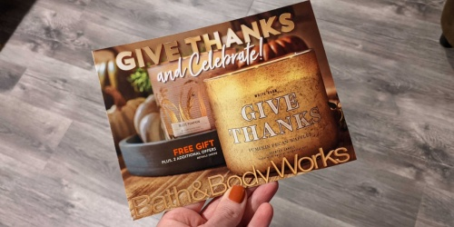 NEW Bath & Body Works Mailer w/ Free Gift Offer & 20% Off Entire Purchase Coupon