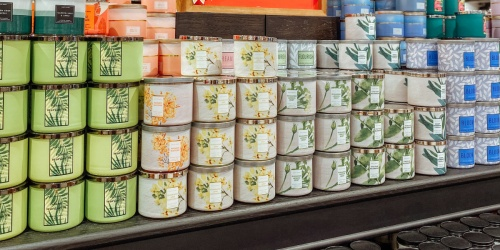 50% Off Bath & Body Works 3-Wick Candles, Body Care Products, Wallflowers & More