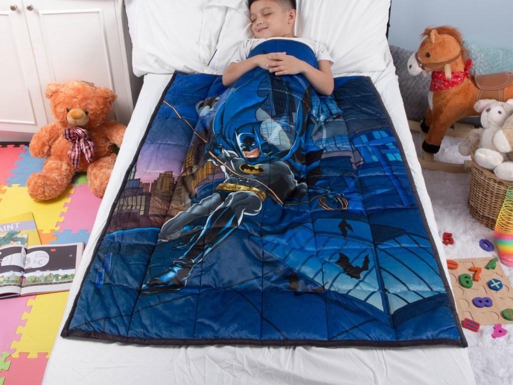 batman kids weighted blanket