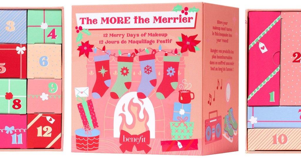 benefit beauty advent calendar box