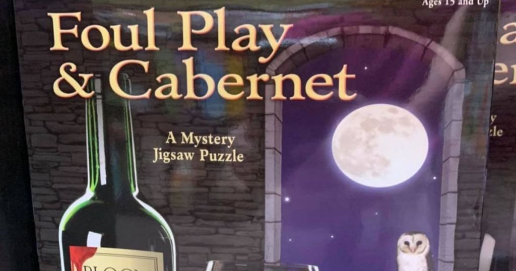 foul play and cabernet bepuzzled jigsaw puzzle