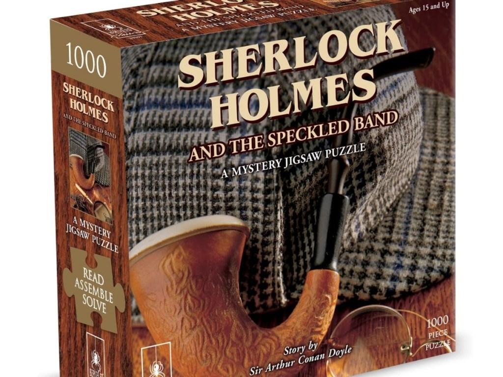 bepuzzled sherlock holmes 1000 piece jigsaw puzzle