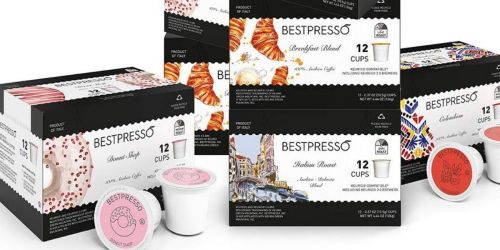 Bestpresso K-Cups 96-Pack from $16 Shipped on Amazon (Regularly $30) | Lightning Deal