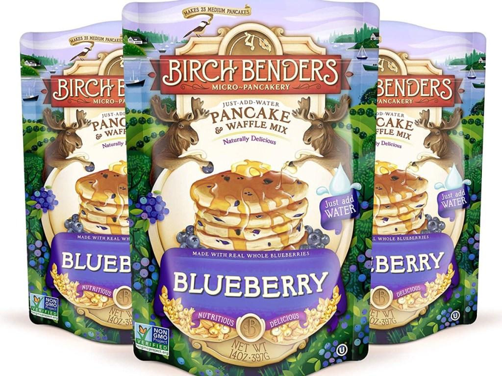 birch benders blueberry pancake mix